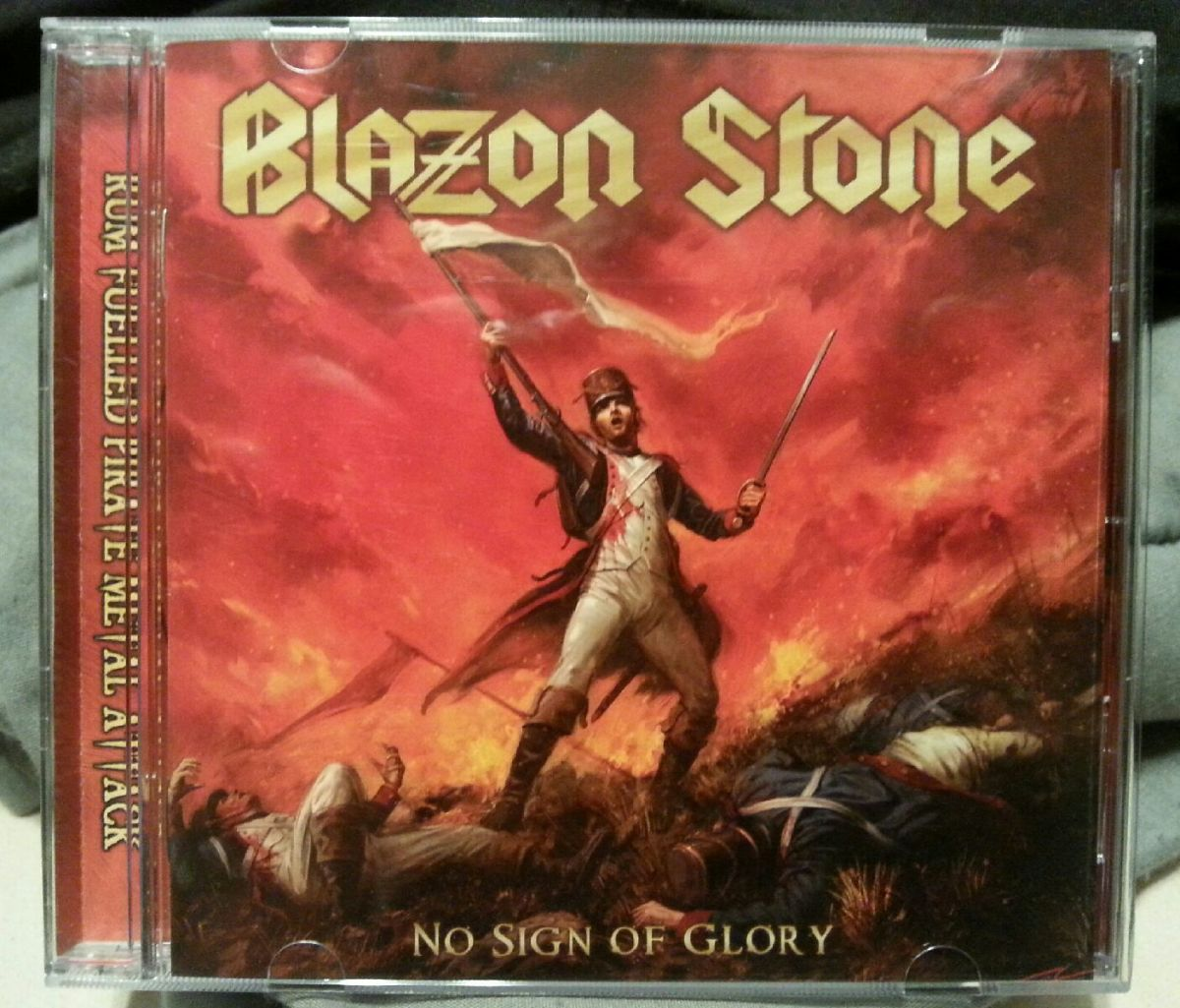"Blazon Stone, ""No Sign of Glory"" CD"