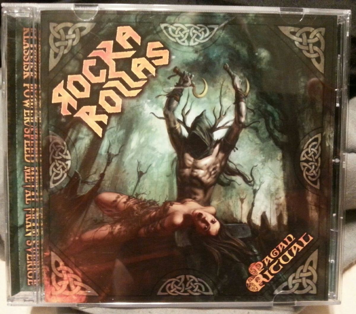 "Rocka Rollas, ""Pagan Ritual"" CD"