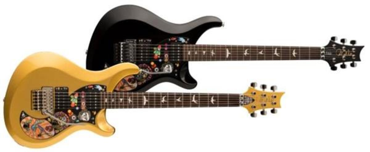 The all new PRS S2 Vela Vernon Reid models