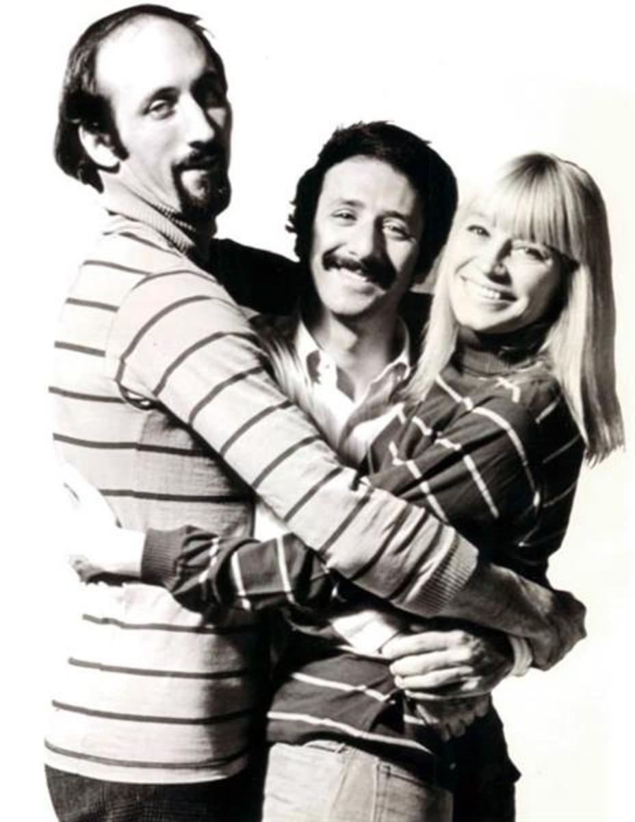 Photo of Peter, Paul and Mary from @1968.