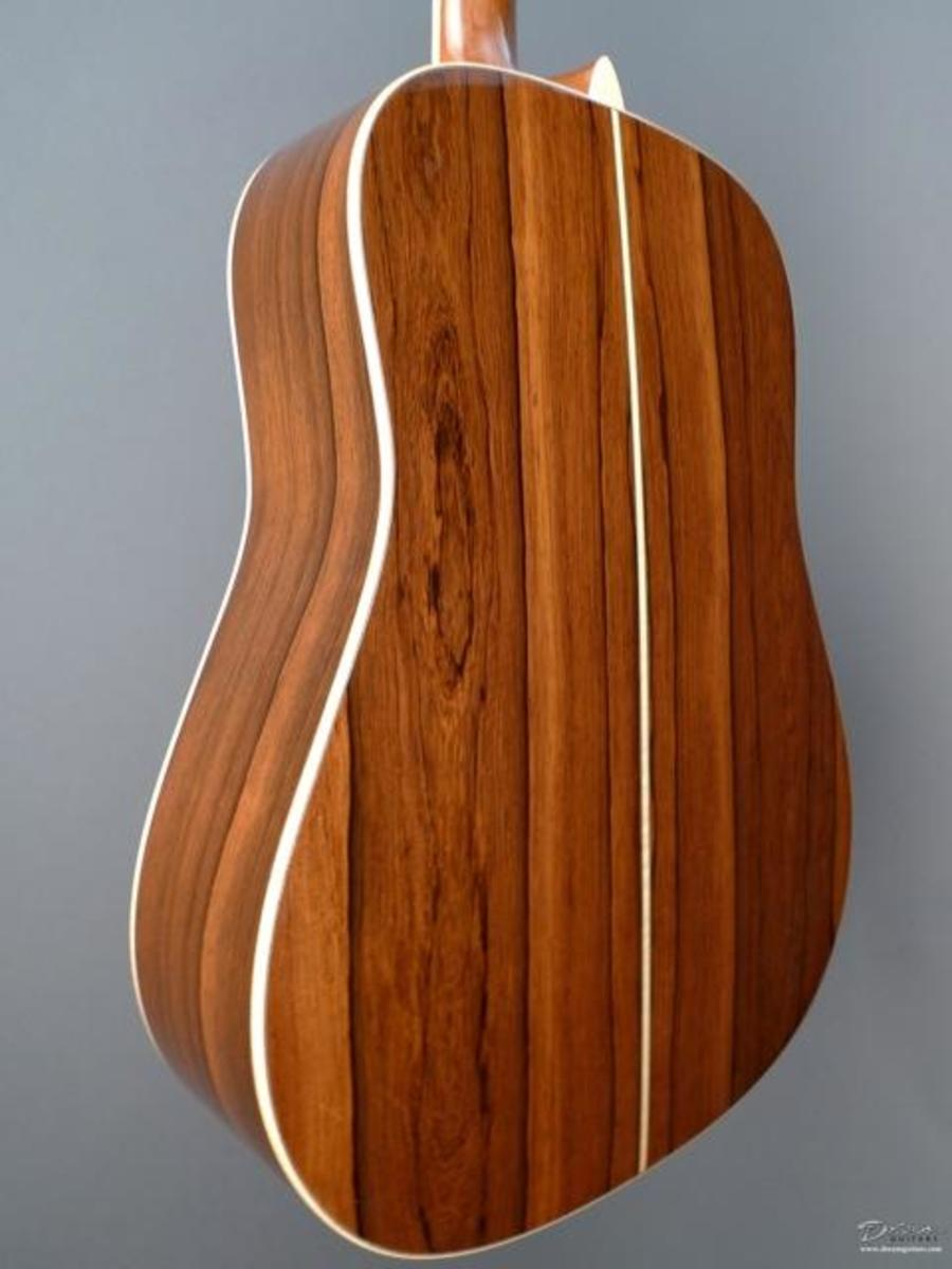 Indian rosewood is never this color.