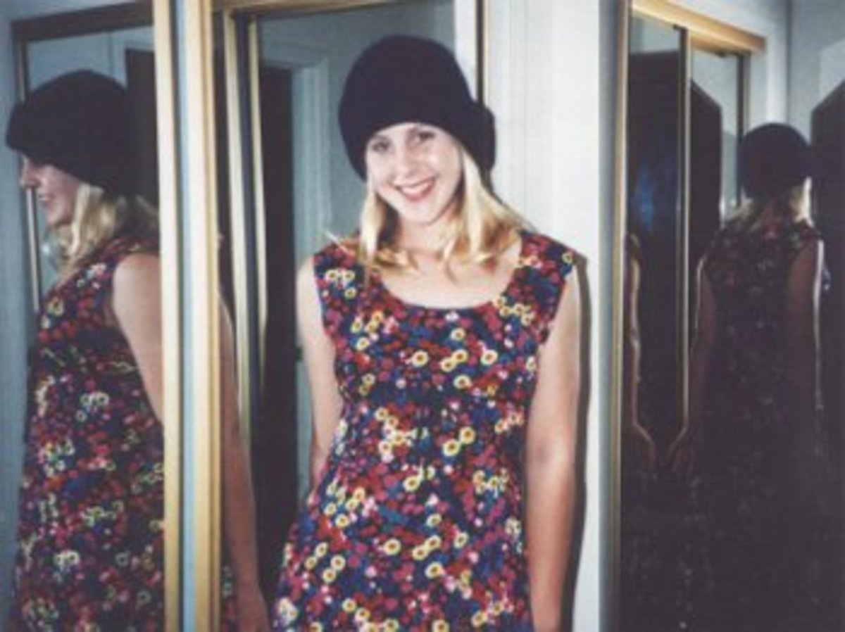 Elyse Pahler, 15 yearsold, a few months before her murder