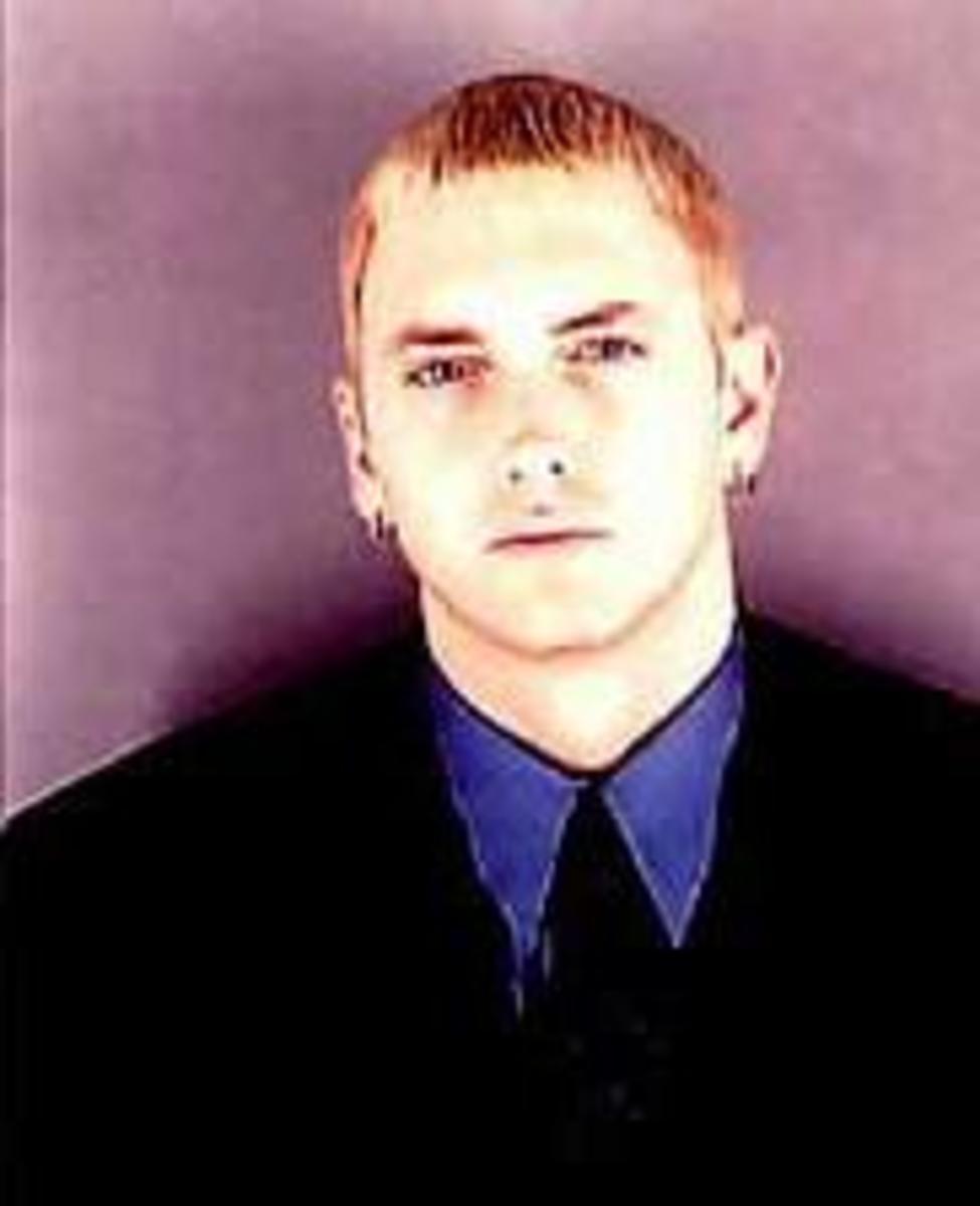 Musician Eminem