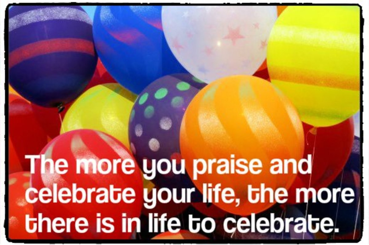"""The more you praise and celebrate your life, the more there is in life to celebrate."" - Oprah Winfrey, American television host"