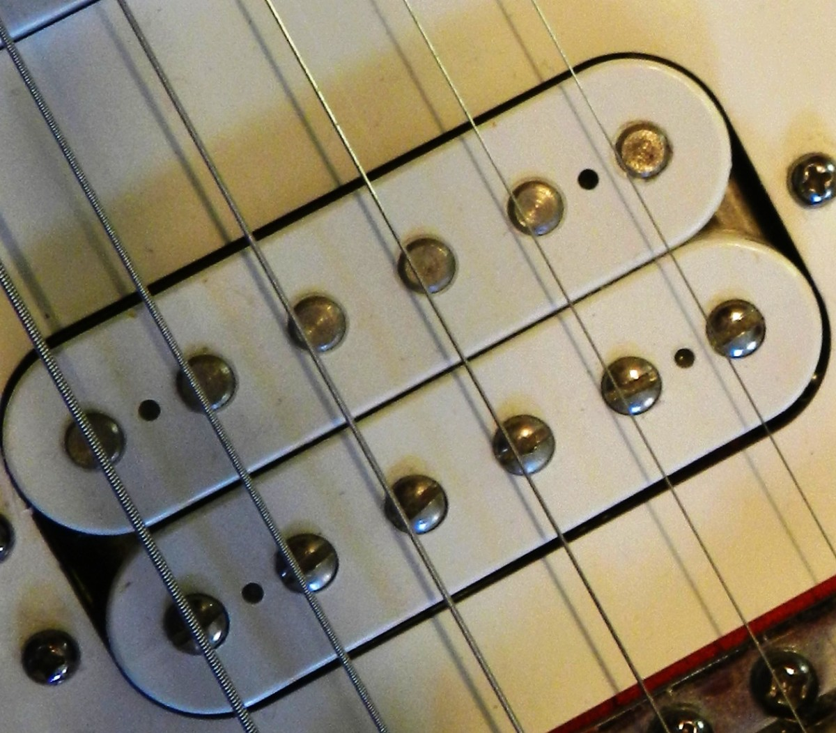 Open-coil Humbucker Pickup