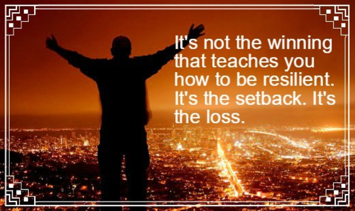 """It's not the winning that teaches you how to be resilient. It's the setback. It's the loss."" - Beth Brooke"