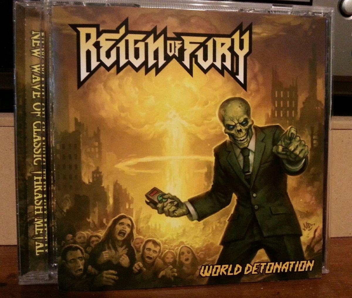 Reign of Fury - World Detonation (2012)