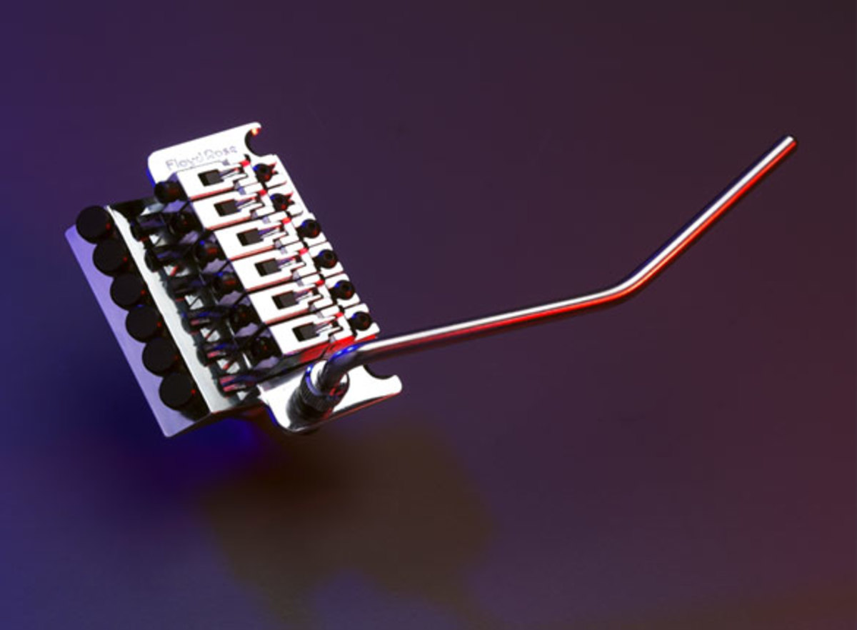 Floyd Rose bridge and whammy bar