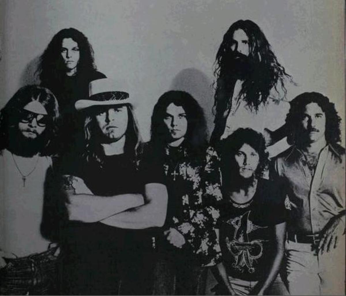 Lynyrd Skynyrd in 1977