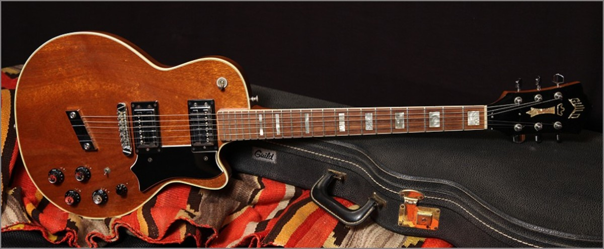 A Guild Bluesbird from the 1970s with spruce top