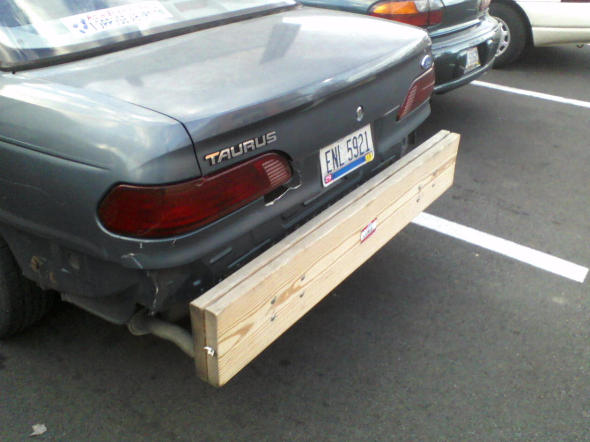 Redneck replacement bumper