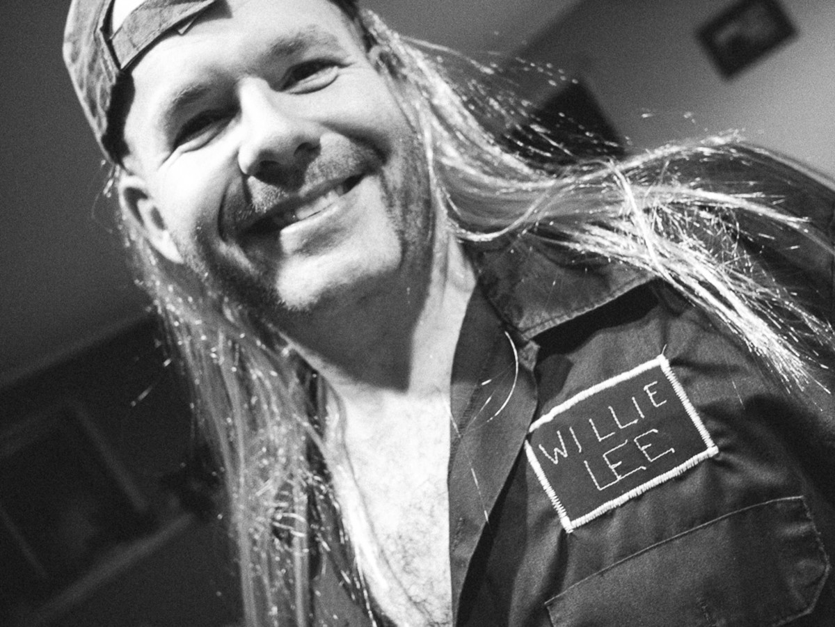 Willie Lee, redneck with a cute smile.