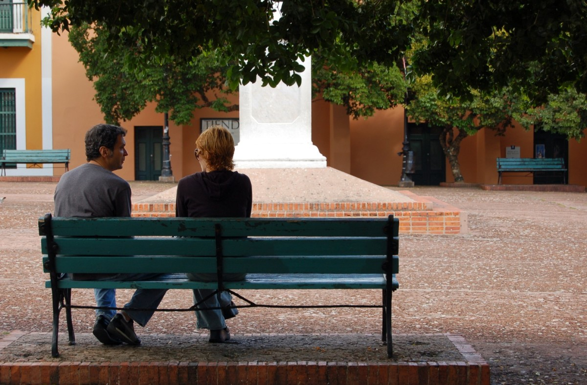 Alone time, spent together.  Has this relationship transitioned from solitude to loneliness?