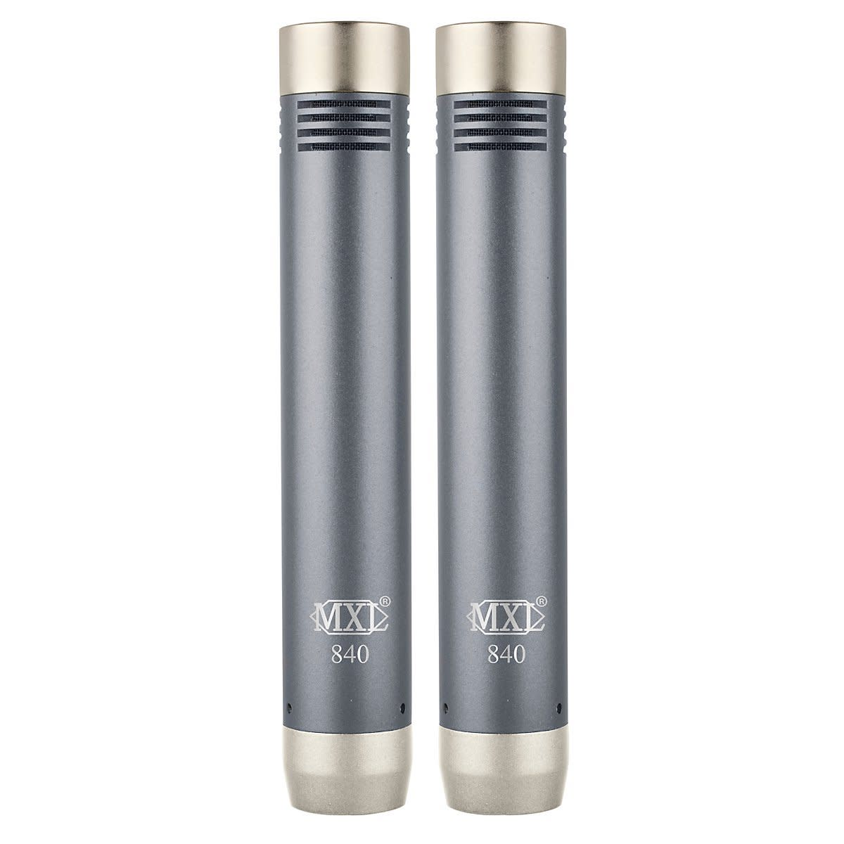 The MXL 840 Pair set of microphones are great for recording instruments.