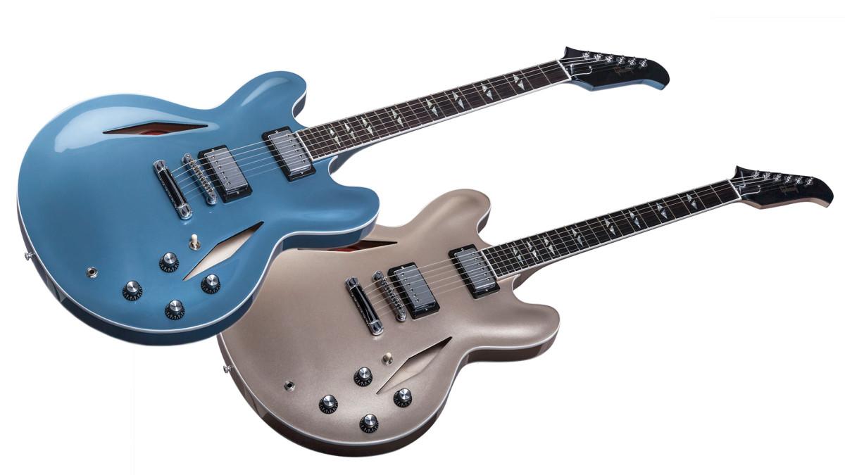 Dave Grohl signature ES-335 guitars.