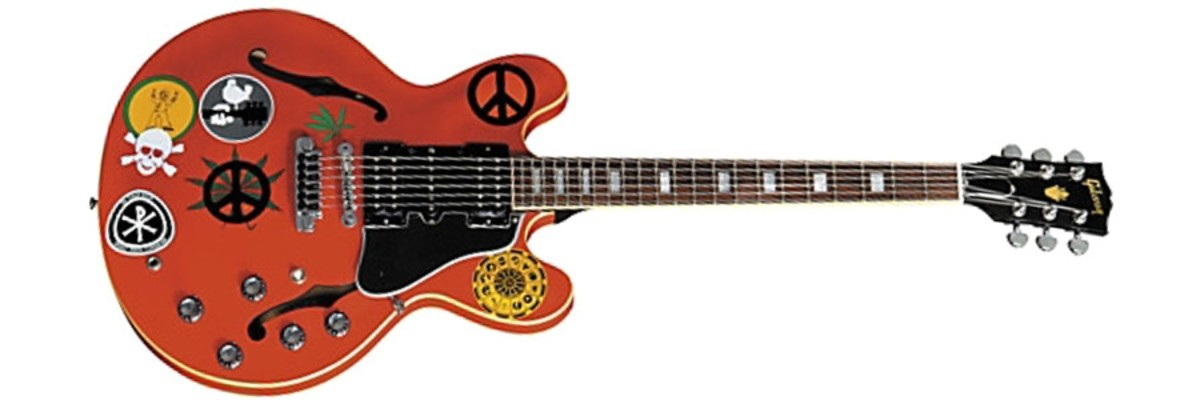 """Gibson Alvin Lee """"Big Red"""" signature model electric guitar"""