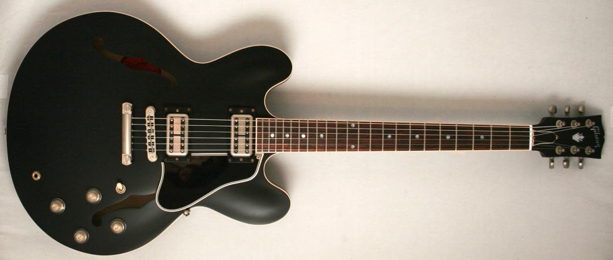 Gibson Chris Cornell ES-335 -Aged black with hard tail