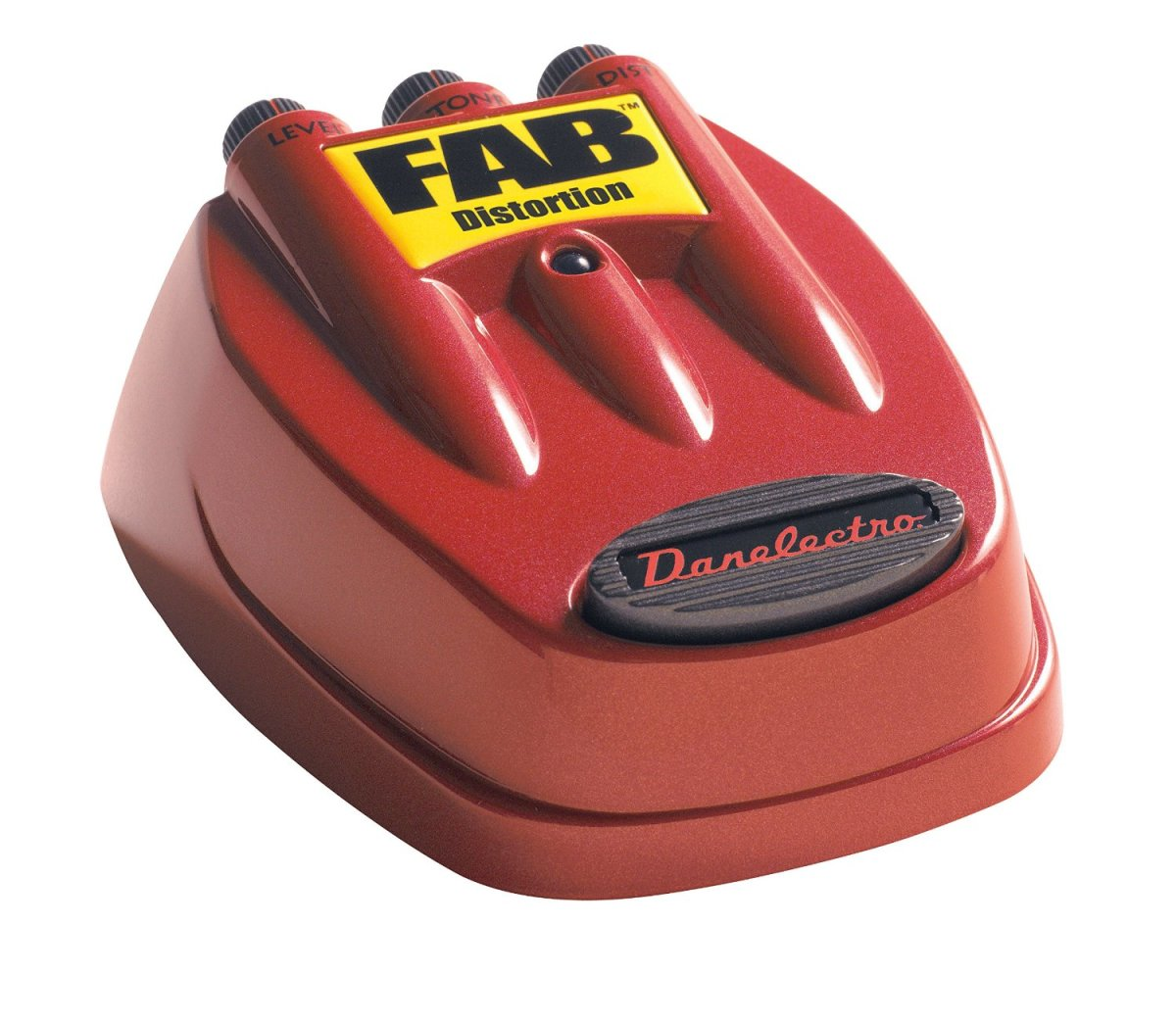 The Danelectro D-1 is a very distinctive looking pedal.