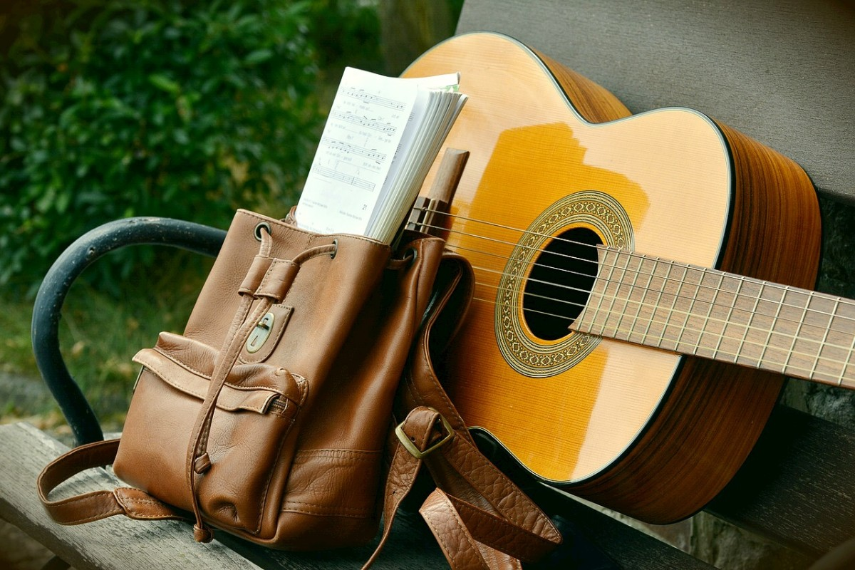 A relatively simple and portable acoustic instrument is all that is necessary to create folk music of different styles.