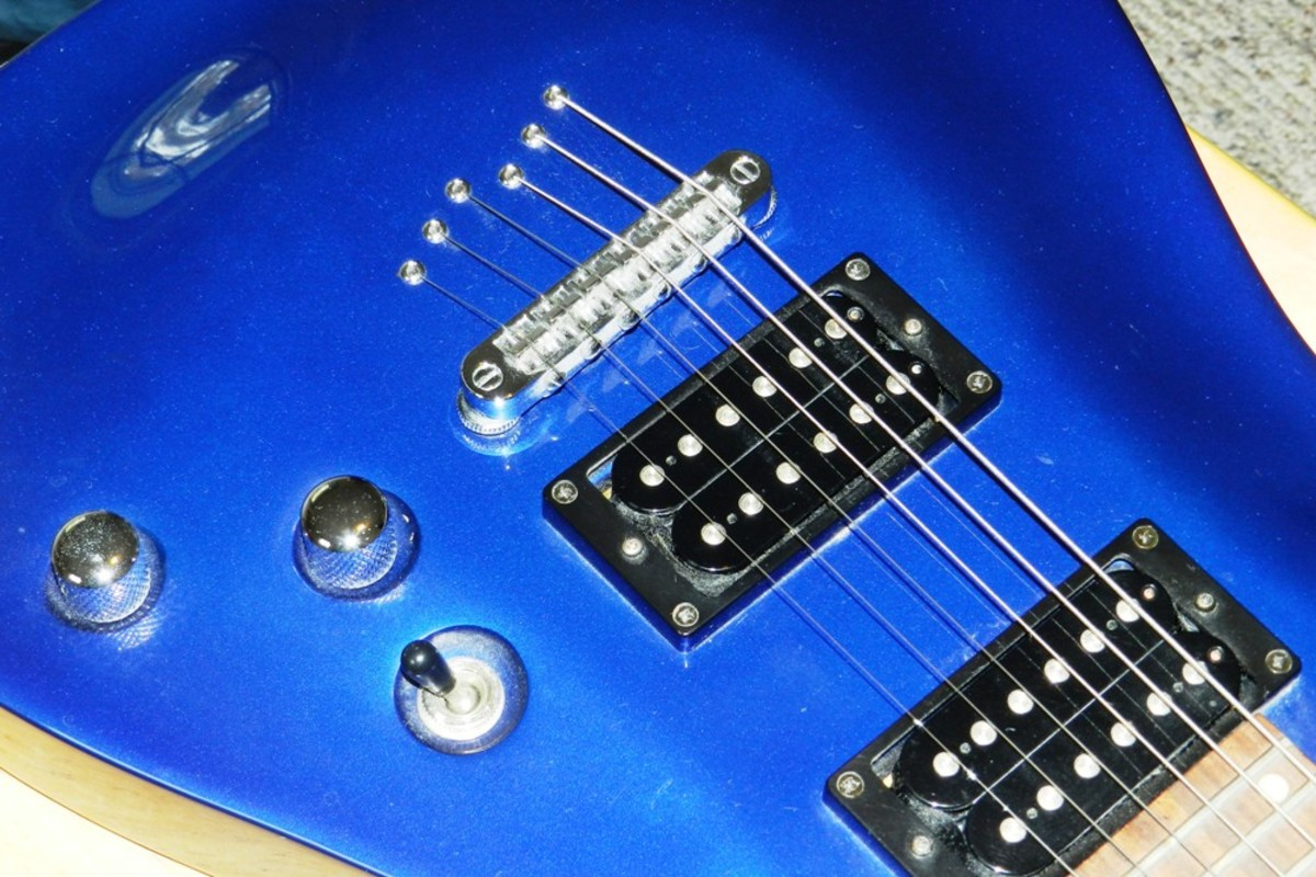 My Schecter Omen is a great example of a lower-cost guitar that comes through on quality.