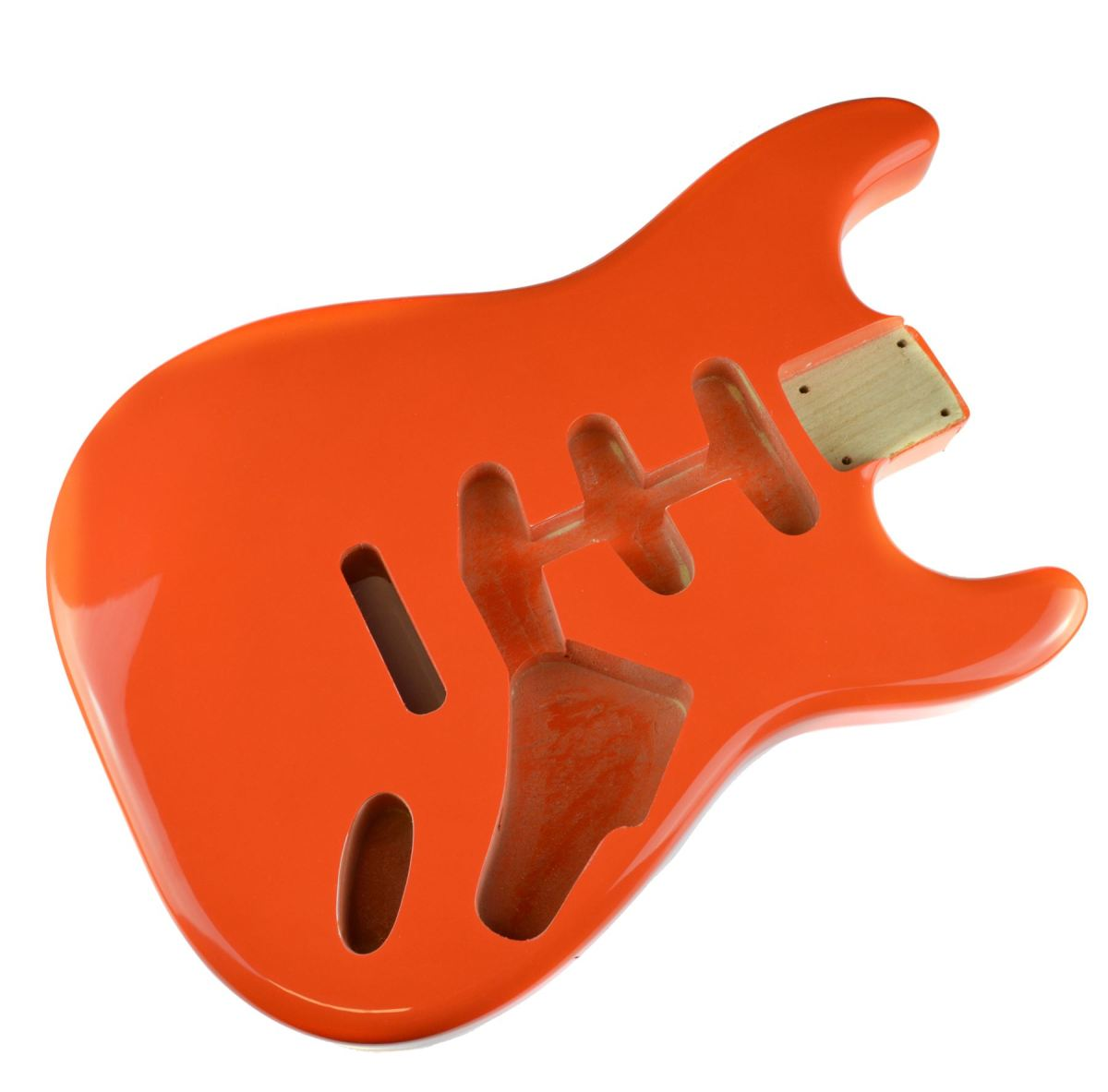 The body of a guitar is the hub that holds everything together.