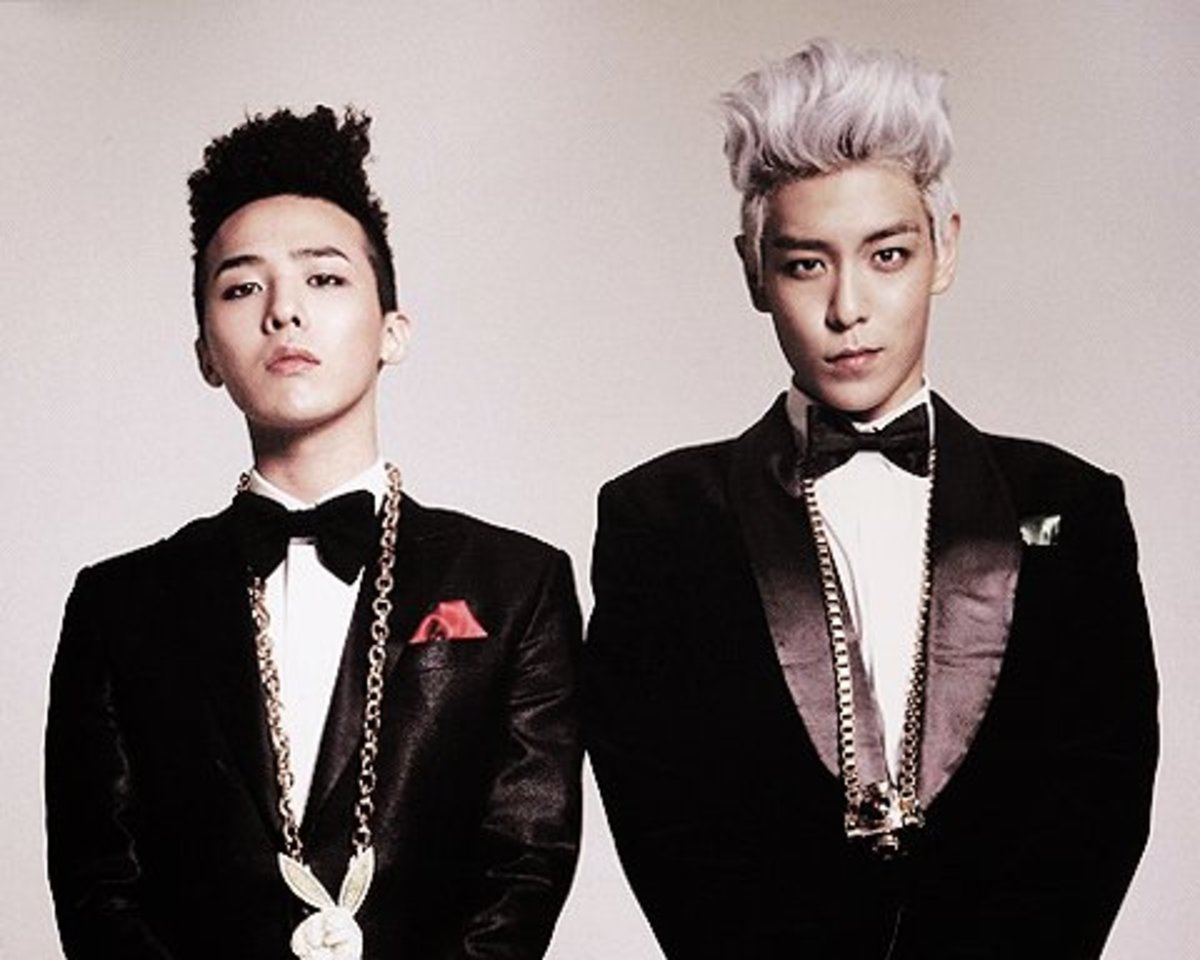 G-Dragon and TOP (Big Bang)