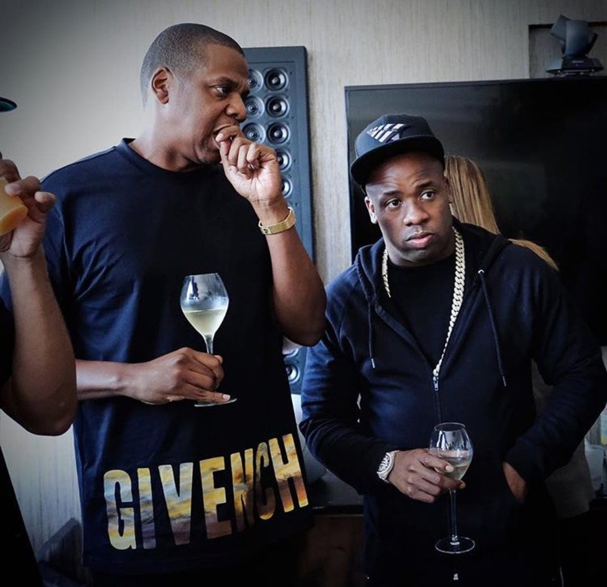 Left: Jay Z, right: Yo Gotti