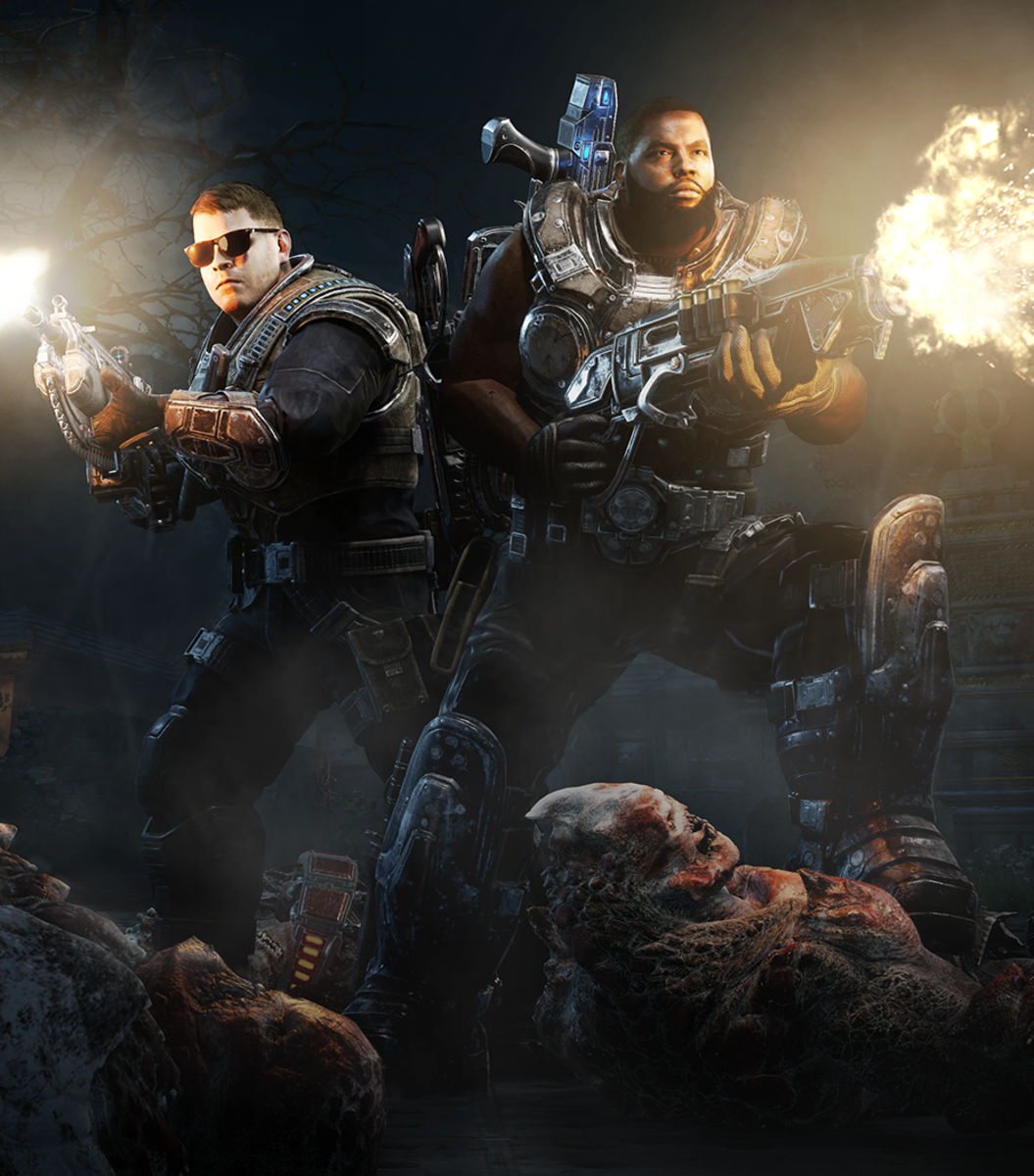Run The Jewels in 'Gears Of War 4'