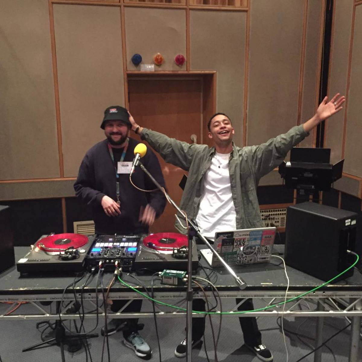 Left: Rebel Kleff, Right: Loyle Carner