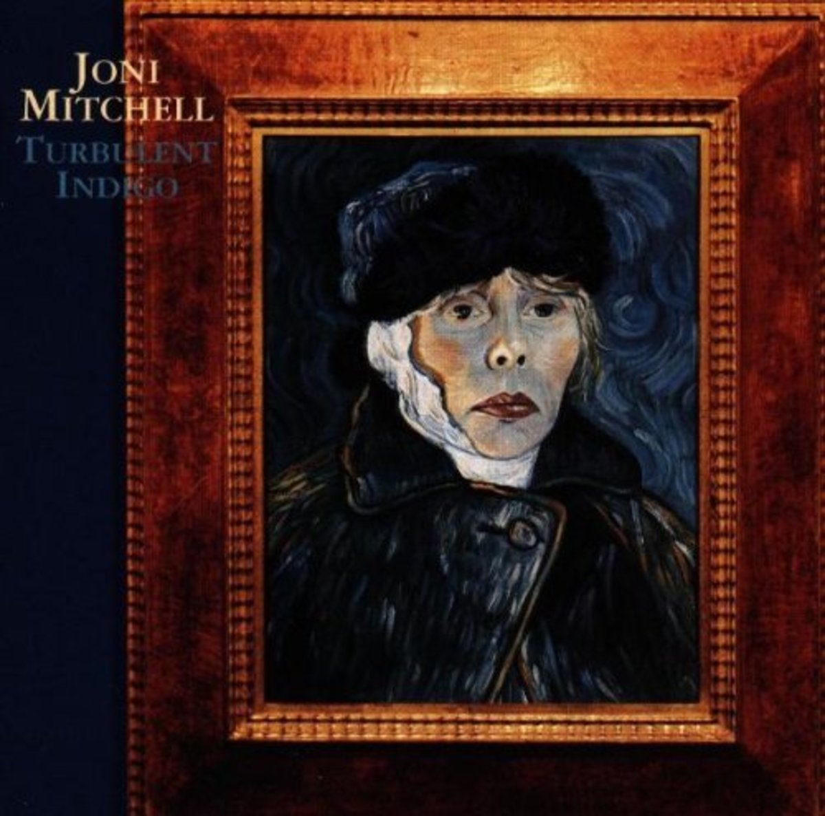 This Van Gogh parody for Turbulent Indigo was created by Joni
