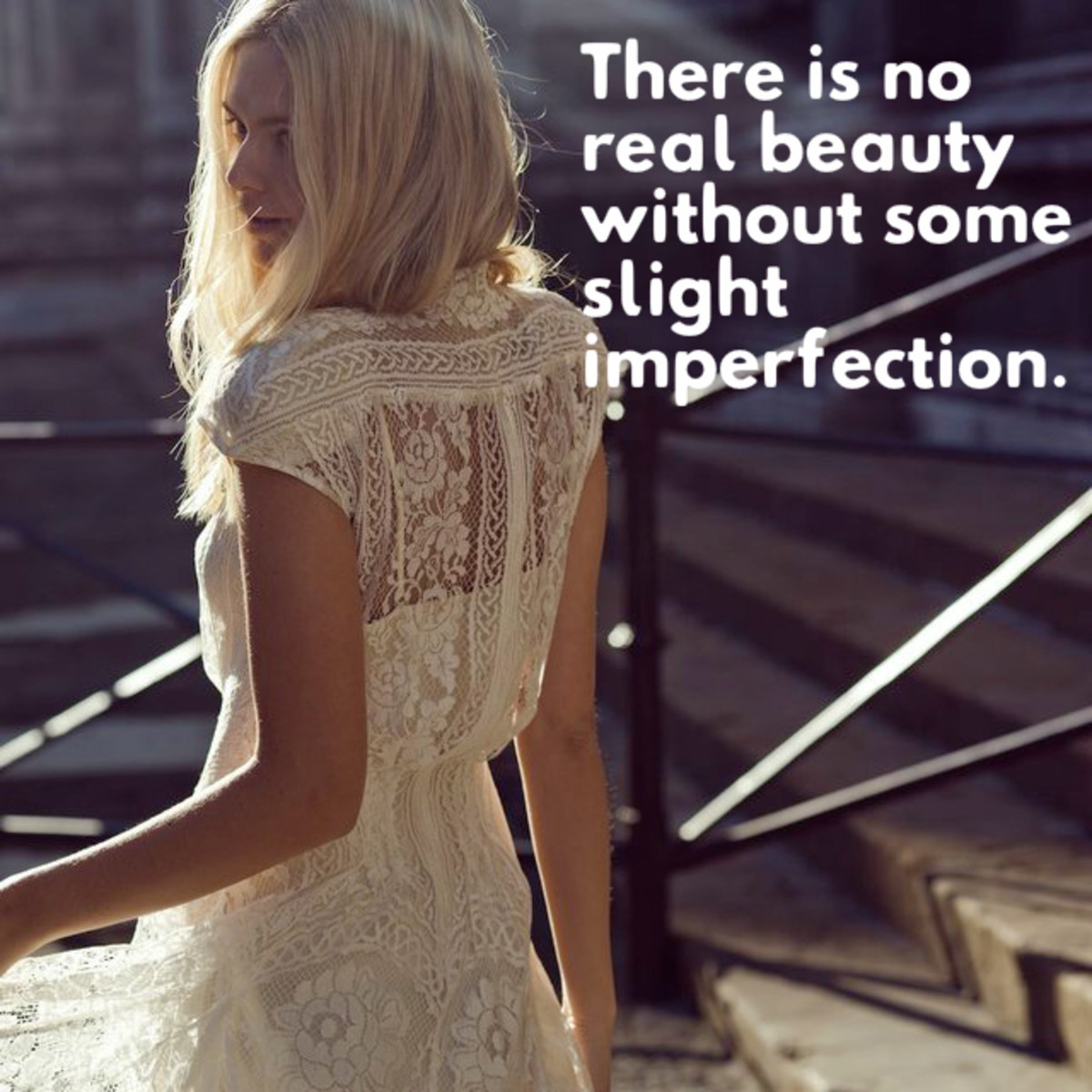 """There is no real beauty without some slight imperfection."" - James Salter, American writer"