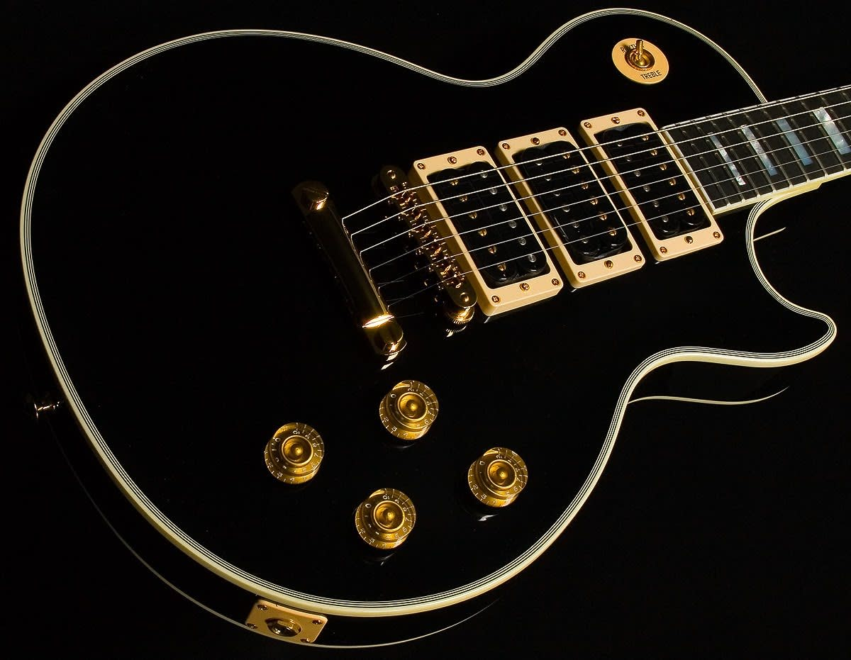 5 best gibson les paul custom guitars with 3 pickups