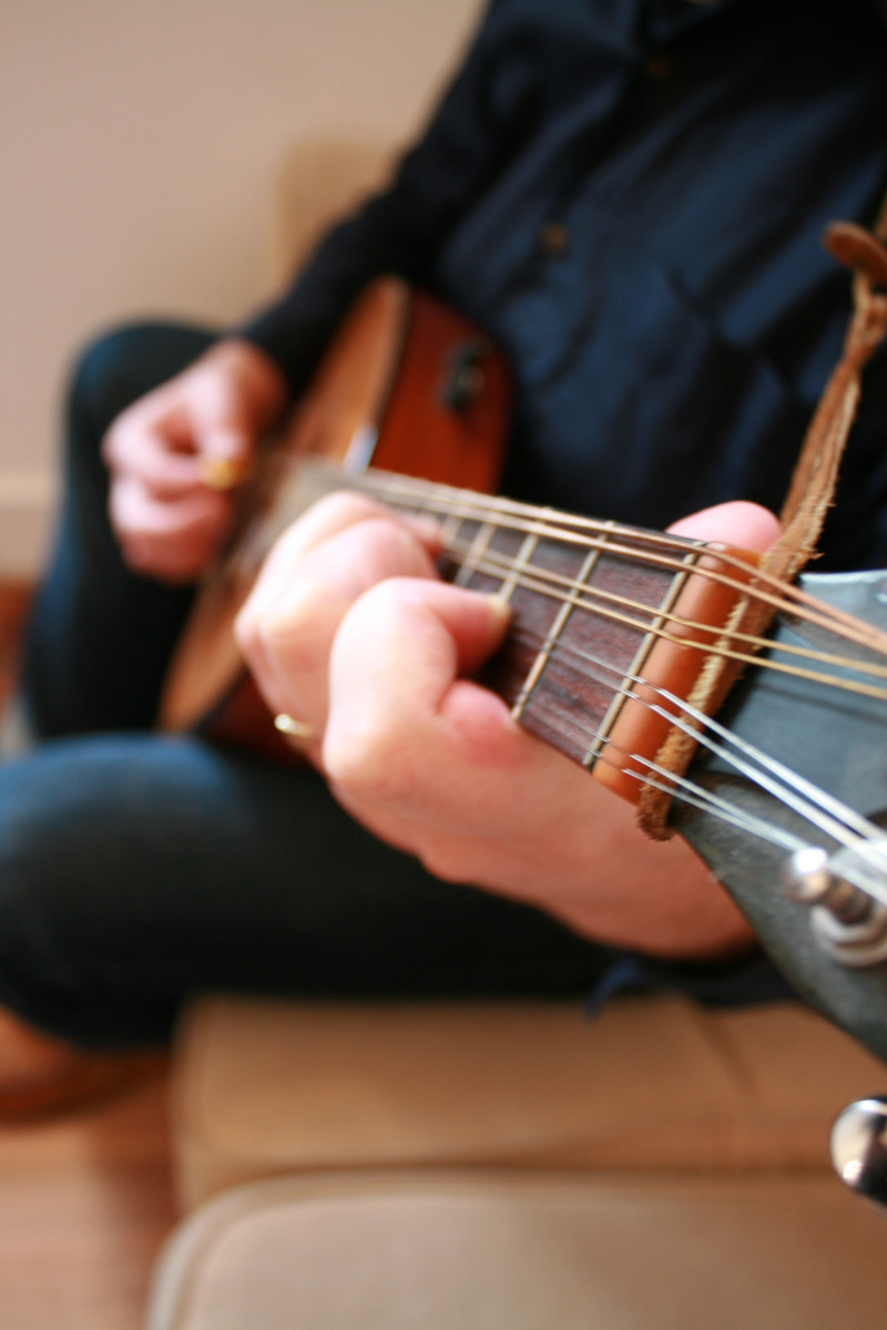 About 1 in 5 people play guitar.