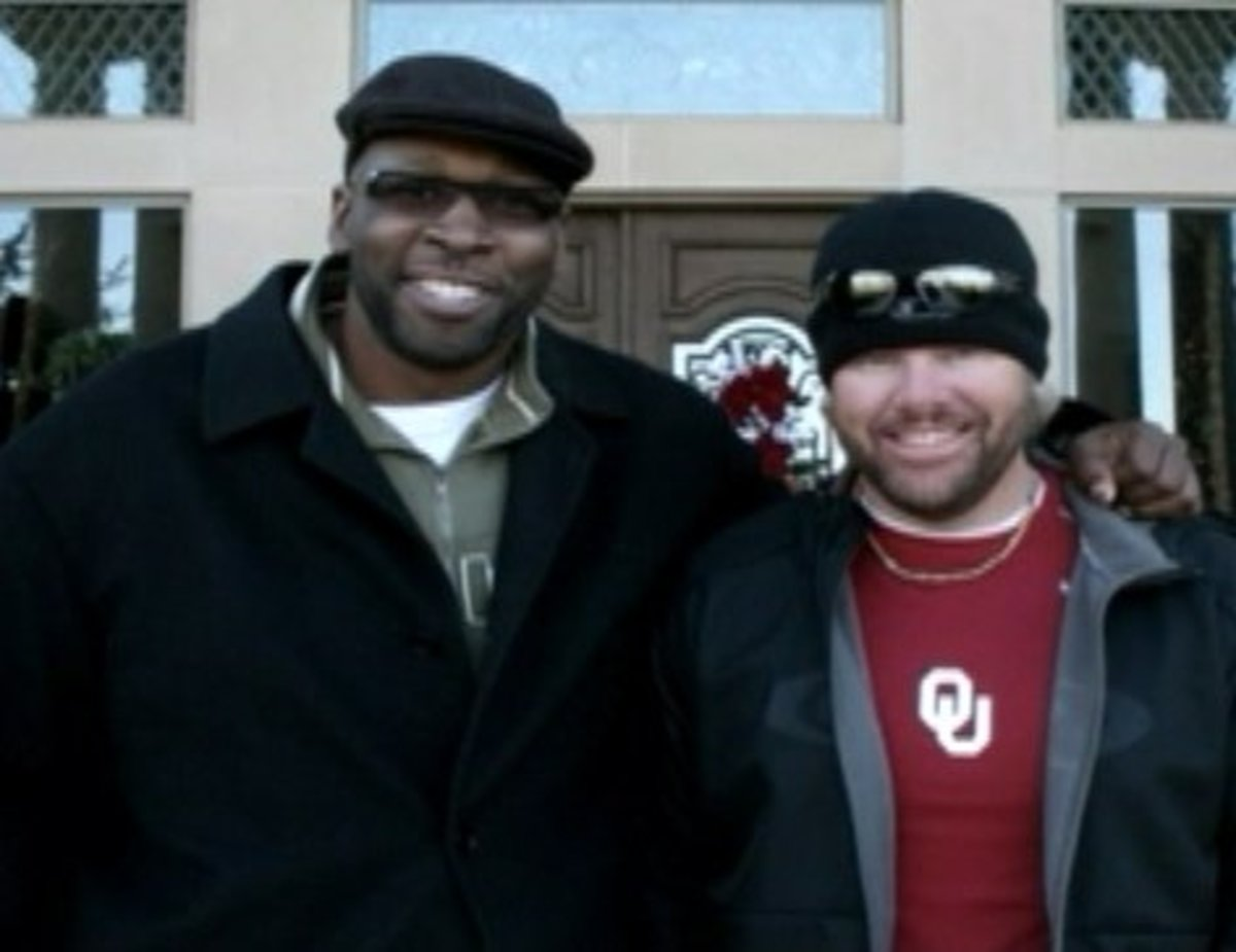Wayne Tisdale and Toby Keith