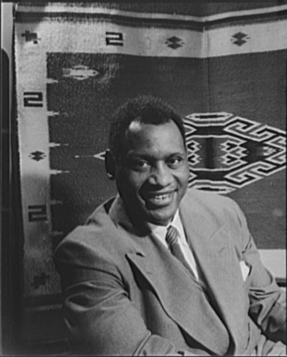 Paul Robeson who asked Pete Seeger to appear with him at a concert in Peekskill NY.