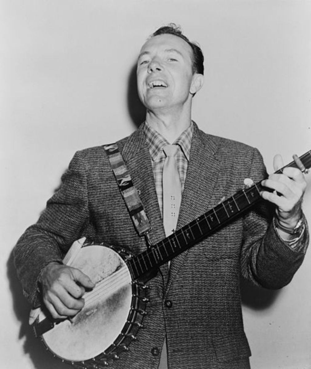 Taken the same year Pete Seeger appeared before HUAC.