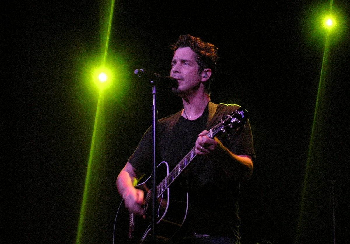 Chris Cornell live in Amsterdam 2007.