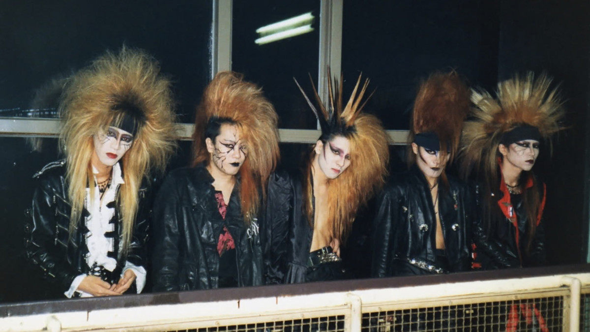 X Japan before they added a bunch of color to their appearance