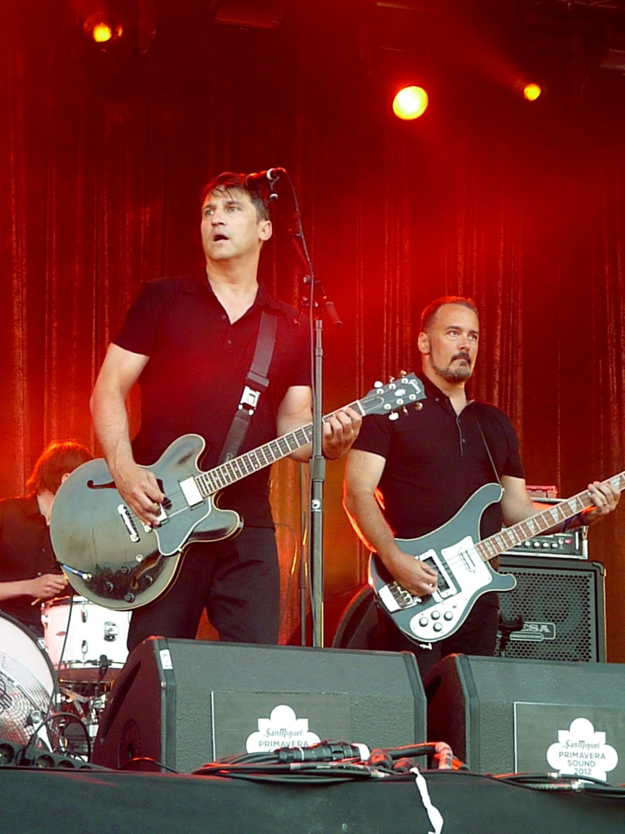 The Afghan Whigs live in 2012.
