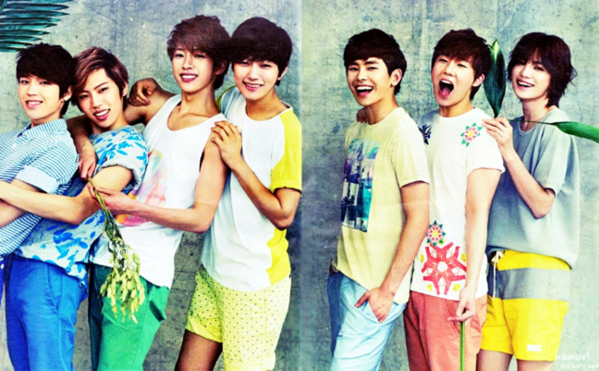 Infinite group photo