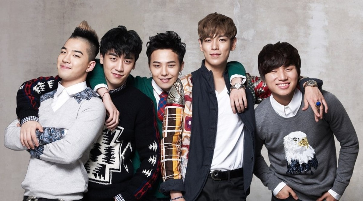 Big Bang group photo