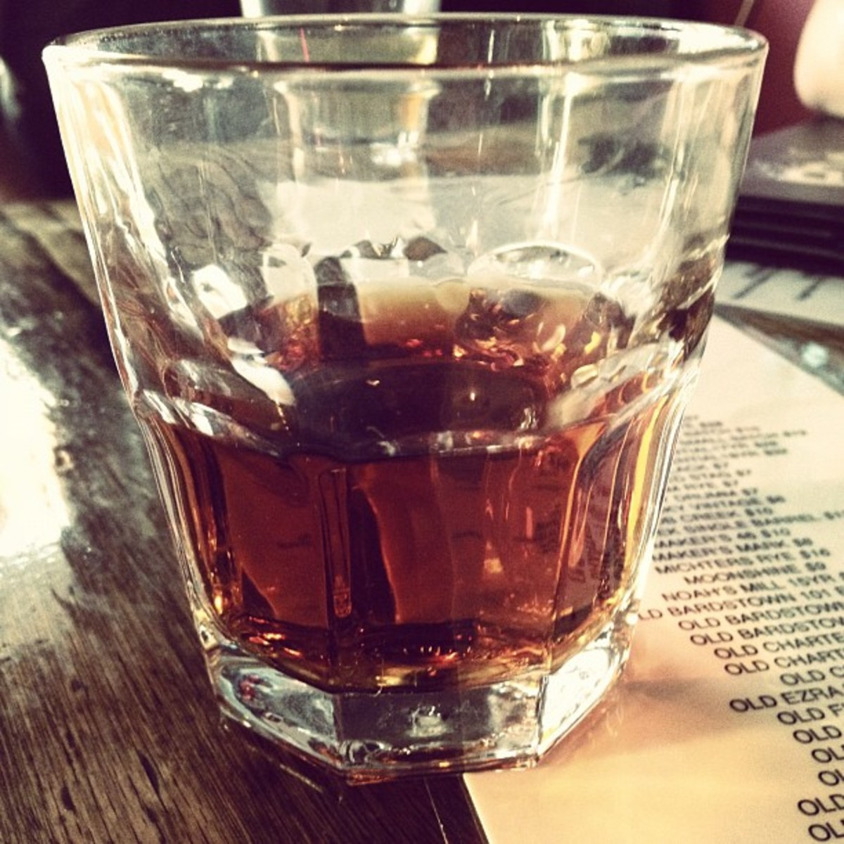 "Whiskey comes from the Gaelic word meaning ""water of life."""