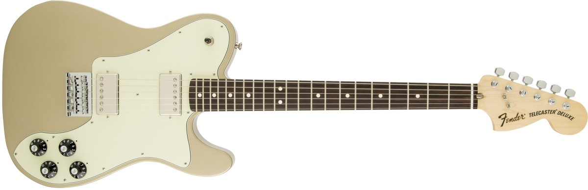 Chris Shiflett Telecaster Deluxe - Shoreline Gold