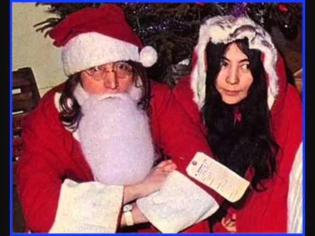 this is the last song released by john for five years as he took a break to help raise his son sean - John Lennon Christmas Song