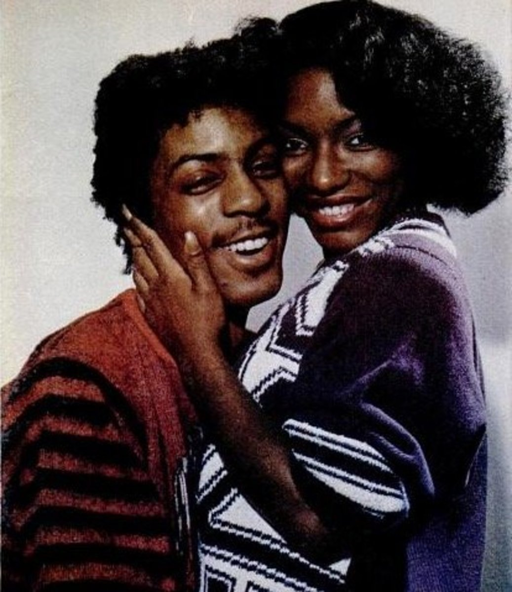 "Stephanie Mills & Former Husband Jeffrey Daniel of the 80's R&B Group ""Shalimar"""