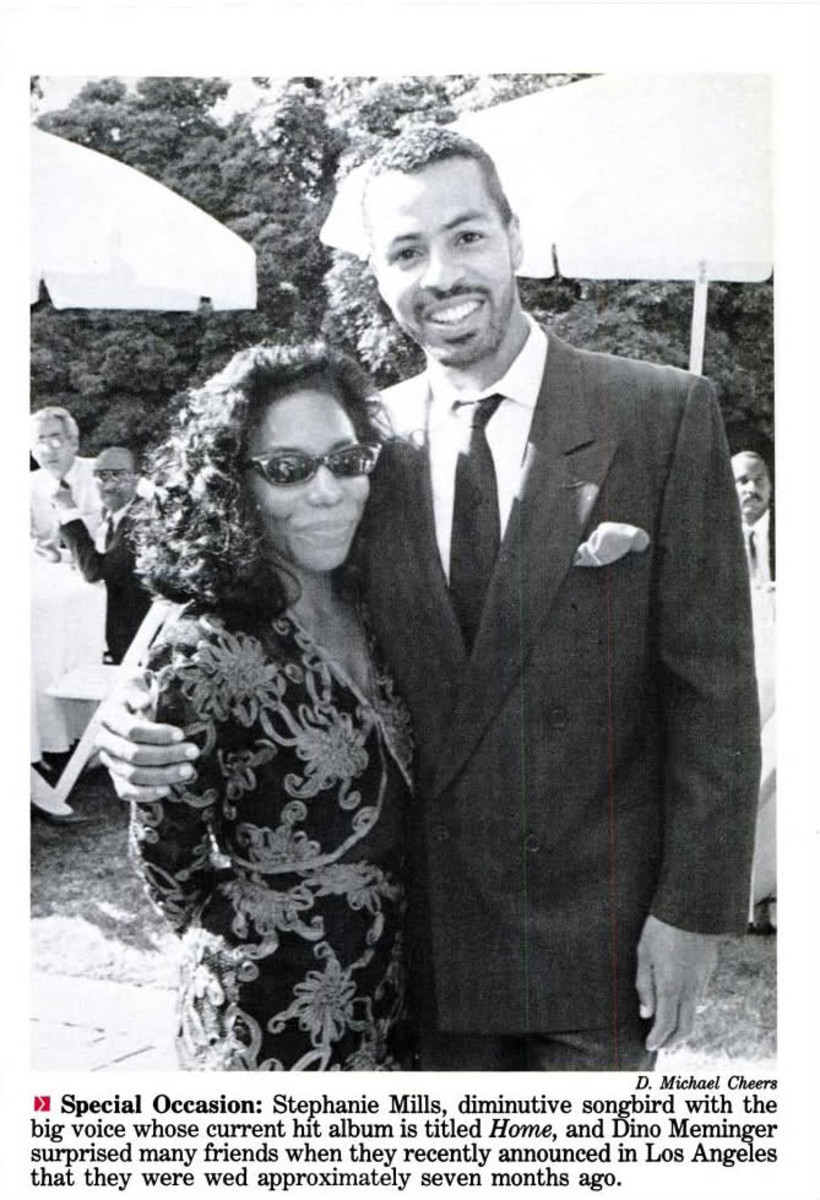 Stephanie Mills & Former Husband, Dino Meminger