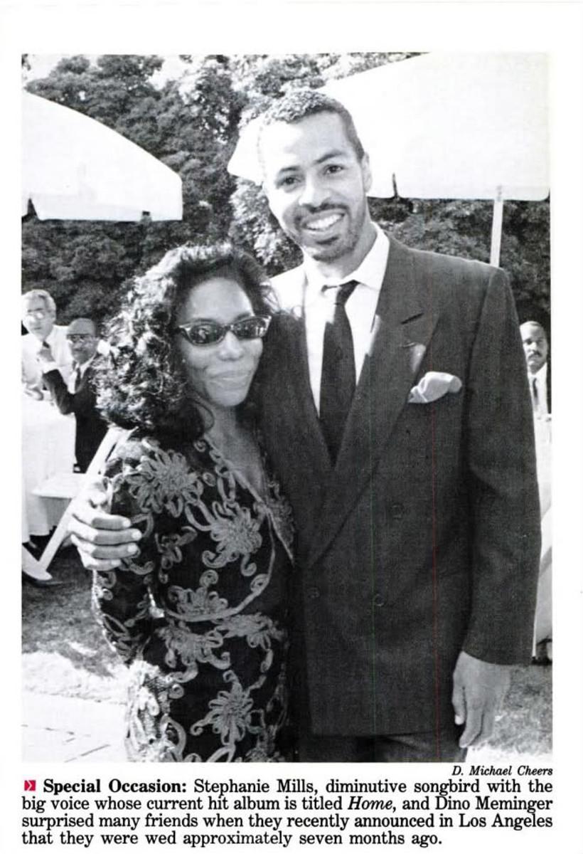 Stephanie Mills & Former Husband, Dino Meminger