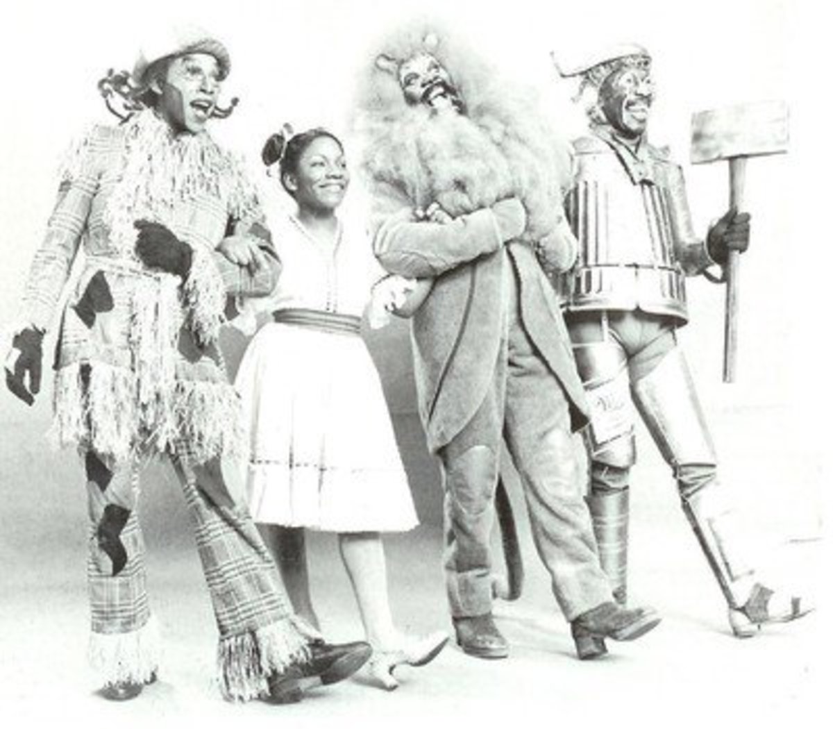 The Cast of The Wiz from the Original Broadway Production