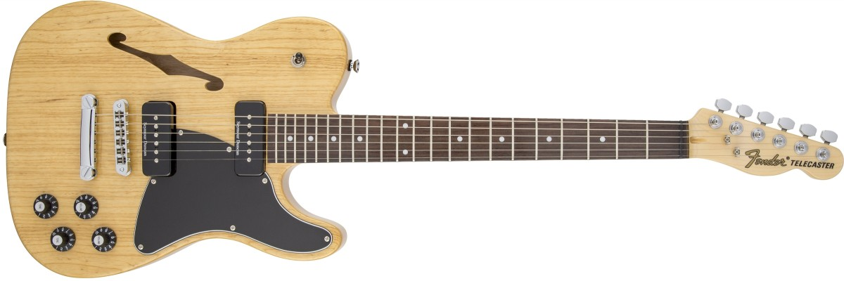 Jim Adkins JA-90 Telecaster Thinline - Natural