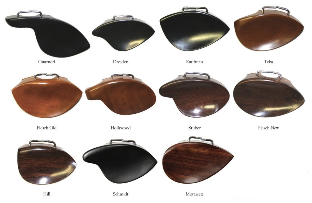 Finding the Right Chin Rest for Violin/Viola